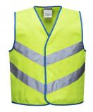Portwest JN15 - Junior Colour Bright mellény, lime zöld