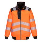 Portwest PW302 - PW3 Hi-Vis 3 az 1-ben pilótadzseki, narancs/fekete