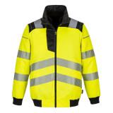 Portwest PW302 - PW3 Hi-Vis 3 az 1-ben pilótadzseki, sárga/fekete