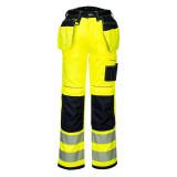 Portwest PW306 - PW3 Hi-Vis Stretch Holster nadrág, sárga/fekete