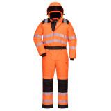 Portwest PW352 - PW3 jól láthatósági téli overál, narancs/fekete