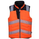 Portwest PW374 - PW3 Hi-Vis kifordítható mellény, narancs/fekete
