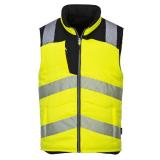 Portwest PW374 - PW3 Hi-Vis kifordítható mellény, sárga/fekete