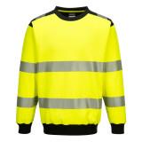 Portwest PW379 - PW3 Hi-Vis környakas pulóver, sárga/fekete