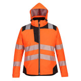 Portwest PW382 - PW3 Női téli kabát, narancs/fekete