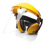 Portwest PW90 - Arc- és hallásvédő szett, sárga