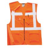 Portwest RT26 - Jól láthatósági vezetői vasúti mellény, narancs