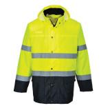 Portwest S166 - Kéttónusú Lite Traffic dzseki, sárga/tengerészkék