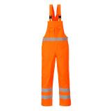 Portwest S388 - Hi-Vis béleletlen mellesnadrág, narancs