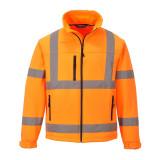 Portwest S424 - Jól láthatósági softshell dzseki, narancs