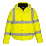 Portwest S463 - Jól láthatósági bomber dzseki, sárga
