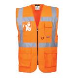 Portwest S476 - Jól láthatósági vezetői mellény, narancs