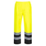 Portwest S486 - Traffic kéttónusú nadrág, sárga/fekete