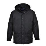 Portwest S530 - Arbroath lélegző polár béléses kabát, fekete