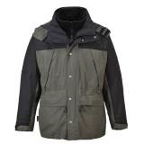Portwest S532 - Orkney 3 az 1-ben lélegző kabát, szürke/fekete