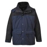 Portwest S532 - Orkney 3 az 1-ben lélegző kabát, tengerészkék/fekete