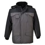 Portwest S562 - Ripstop kéttónusú kabát, fekete/szürke