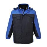 Portwest S562 - Ripstop kéttónusú kabát, tengerészkék/királykék