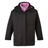 Portwest S571 - Elgin 3 az 1-ben női kabát, fekete