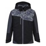 Portwest S601 - X3 Reflective kabát, fekete/szürke