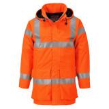 Portwest S774 - Bizflame Rain Hi-Vis antisztatikus FR dzseki, narancs