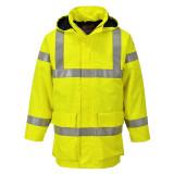 Portwest S774 - Bizflame Rain Hi-Vis antisztatikus FR dzseki, sárga
