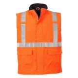 Portwest S776 - Bizflame Rain Hi-Vis antisztatikus, bélelt FR mellény, narancs