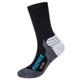 Portwest SK24 - Bamboo Hiker zokni, fekete