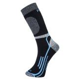 Portwest SK34 - Winter Merino zokni, fekete