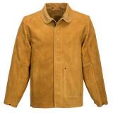 Portwest SW34 - Bőr hegesztő kabát, cserszínű