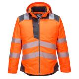 Portwest T400 - PW3 Hi-Vis téli kabát, narancs/szürke