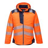 Portwest T400 - PW3 Hi-Vis téli kabát, narancs/tengerészkék