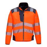 Portwest T402 - PW3 Hi-Vis softshell kabát, narancs/szürke