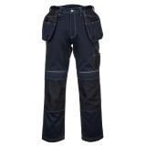 Portwest T602 - PW3 Urban Work lengőzsebes nadrág, tengerészkék/fekete
