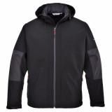Portwest TK53 - Softshell dzseki kapucnival (3L), fekete