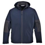 Portwest TK53 - Softshell dzseki kapucnival (3L), tengerészkék