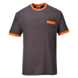 Portwest TX22 - Texo Contrast póló, szürke