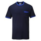 Portwest TX22 - Texo Contrast póló, tengerészkék