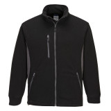 Portwest TX40 - Texo Heavy kéttónusú polár pulóver, fekete