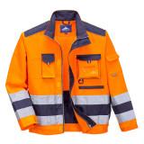Portwest TX50 - Lille Hi-Vis kabát, narancs/tengerészkék