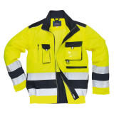 Portwest TX50 - Lille Hi-Vis kabát, sárga/tengerészkék