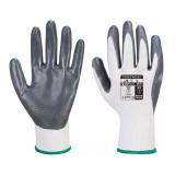 Portwest VA310 - Flexo Grip nitril kesztyű automatákhoz, fehér/szürke
