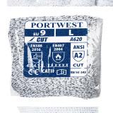 Portwest VA620 - PU tenyérmártott vágásbiztos kesztyű automatákhoz, Cut 3, szürke