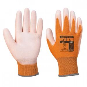 Portwest A199 - ESD tenyér bevont védőkesztyű, narancs termék fő termékképe