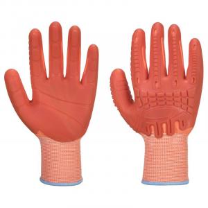 Portwest A728 - Supergrip Impact HR Cut kesztyű Cut - / D, narancs termék fő termékképe