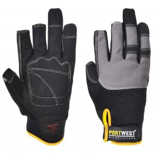 Portwest A740 - Powertool Pro védőkesztyű, fekete termék fő termékképe