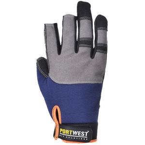 Portwest A740 - Powertool Pro védőkesztyű, tengerészkék termék fő termékképe