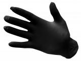 Portwest A925 - Egyszerhasználatos nitril kesztyű, púdermentes, fekete, 100db/csomag