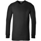 Portwest B123 - Hosszú ujjú póló, fekete