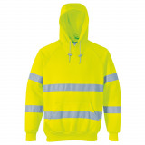Portwest B304 - Jól láthatósági kapucnis pulóver, sárga